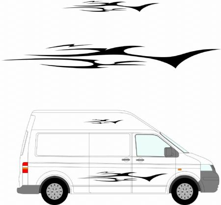 (No.162) MOTORHOME GRAPHICS STICKERS DECALS CAMPER VAN CARAVAN UNIVERSAL FITTING